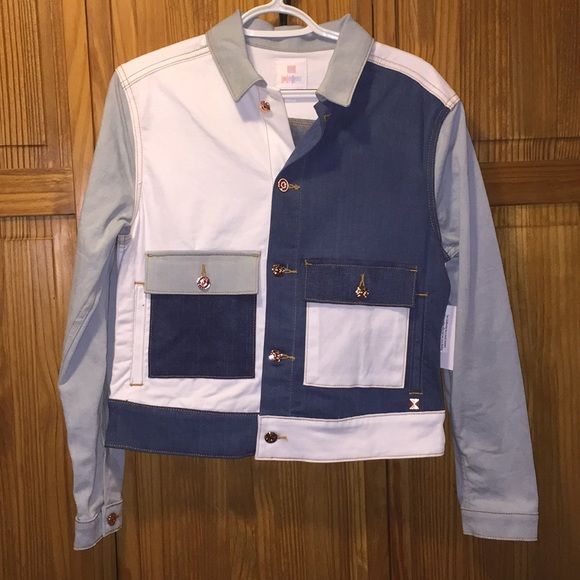 d8a2dbba35a LuLaRoe Jackets & Coats | Brand New With Tags Multi Colored Jean ...